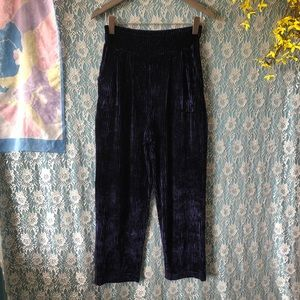 ULTRA HIGH WAIST CORDUROY VINTAGE RIBBED TROUSERS